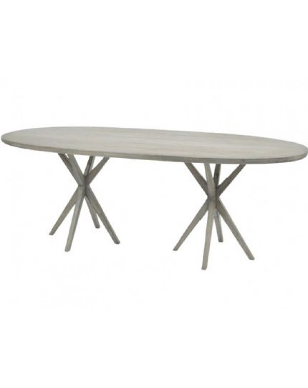 Libra Fairmont Oval Mindi Dining Table